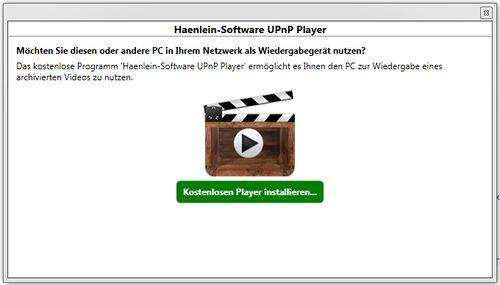 HS-UPnP-Player: INSTALLATION und EINSTELLUNG – Haenlein